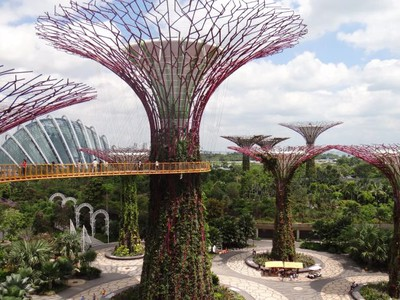 Cingapura - Garden by the Bay - O futuro é agora