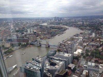 The Shard: uma visita ao edifício mais alto de Londres